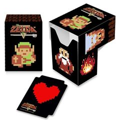 Ultra Pro - The Legend Of Zelda: Full View Deck Box - 8-Bit (85225)