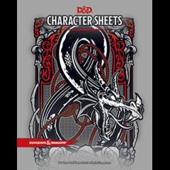 D&D 5th Edition RPG - Character Sheets