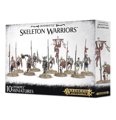 Warhammer AoS Deathrattle Skeleton Warriors