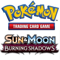 Sun & Moon - Burning Shadows Sleeved Booster - Master Carton