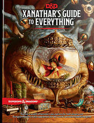 D&D 5th Edition RPG - Xanathar's Guide to Everything