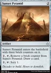 Sunset Pyramid - Foil