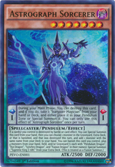 Astrograph Sorcerer - PEVO-EN001 - Ultra Rare - 1st Edition on Channel Fireball