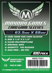 Mayday - Standard Card Sleeves 63.5Mm X 88Mm 100Ct
