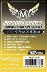 Mayday - Standard Mini Usa Sleeves 41Mm X 63Mm 100Ct