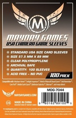 Mayday - Standard Usa Chimera Sleeves 57.5Mm X 89Mm 100Ct