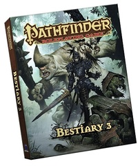 Pathfinder Role Playing Game: Bestiary 3 (Pocket Edition)