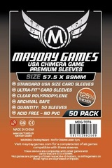 Mayday - Premium Usa Chimera Sleeves 57.5Mm X 89Mm 50Ct