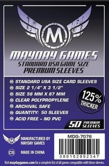 Mayday - Premium Usa Sleeves 56Mm X 87Mm 50Ct