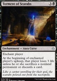 Torment of Scarabs - Foil