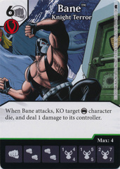 Bane - Knight Terror (Die and Card Combo)