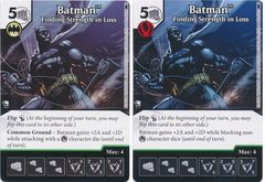 Batman - Finding Strength in Loss (Die and Card Combo)