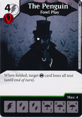 The Penguin - Fowl Play (Die and Card Combo)