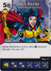 Big Barda - Hell Hath No Fury (Die and Card Combo) - Foil
