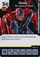 Hawk - The Agent of Chaos (Die and Card Combo) - Foil