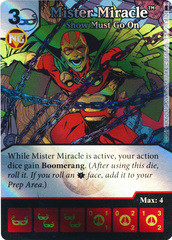 Mister Miracle - Show Must Go On (Die and Card Combo) - Foil