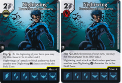 Nightwing - Protector of Bludhaven (Die and Card Combo) - Foil