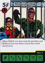 The Riddler - Get a Clue (Die and Card Combo) - Foil