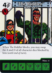 The Riddler - What Am I? (Die and Card Combo) - Foil