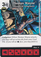 Thomas Wayne - Knight of Vengeance (Die and Card Combo) - Foil