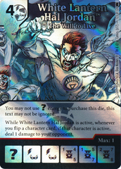 White Lantern Hal Jordan - The Will to Live (Die and Card Combo) - Foil
