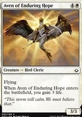 Aven of Enduring Hope - Foil on Channel Fireball
