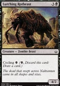 Lurching Rotbeast - Foil