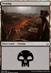 Swamp - Foil (194)(HOU)
