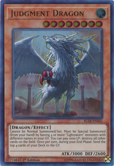 Judgment Dragon - BLLR-EN041 - Ultra Rare - 1st Edition on Channel Fireball
