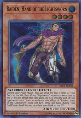 Raiden, Hand of the Lightsworn - BLLR-EN042 - Ultra Rare 1st Edition