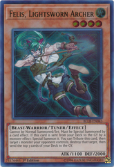 Felis, Lightsworn Archer - BLLR-EN043 - Ultra Rare - 1st Edition