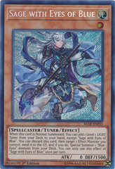 Sage with Eyes of Blue - BLLR-EN055 - Secret Rare - 1st Edition on Channel Fireball