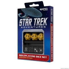 Star Trek Adventures Dice Set - Operations Gold