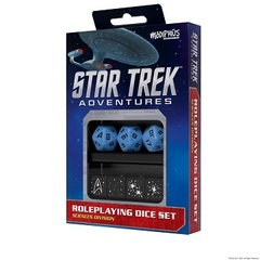Star Trek Adventures Dice Set - Sciences Blue