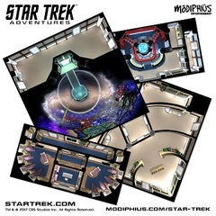 Star Trek Adventures Next Gen Starfleet Deck Tiles