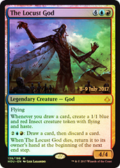 The Locust God - Foil - Prerelease Promo