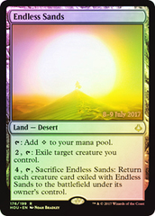 Endless Sands - Foil - Prerelease Promo