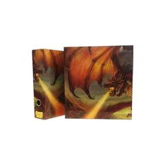 Dragon Shield Slipcase Binder - Red (Char The Burning Tornado)