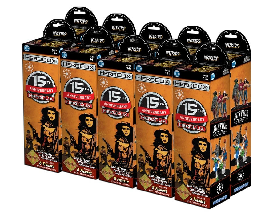 DC HeroClix: 15th Anniversary Elseworlds Booster Brick (10)