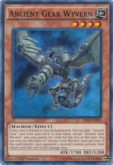Ancient Gear Wyvern - SR03-EN003 - Super Rare - Unlimited Edition on Channel Fireball