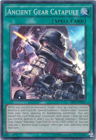 3 x Ancient Gear Gadjiltron Dragon 1st Edition - Common SR03-EN021