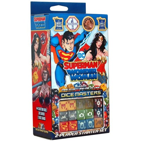 Superman and Wonder Woman Starter Set