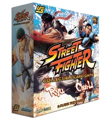 Street Fighter: Collectible Card Game Two-Player Turbo Box