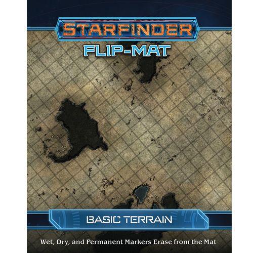 Starfinder Rpg: Flip-Mat - Basic Terrain
