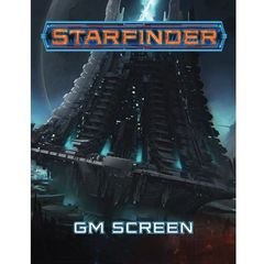 Starfinder RPG Gamemaster Screen