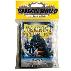 Dragon Shield - Mini 50Ct Pack: Black