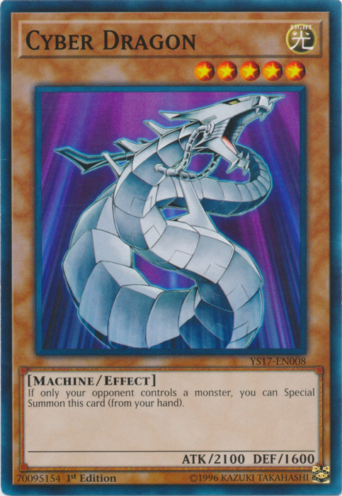 Cyber Dragon - YS17-EN008 - Common - 1st Edition