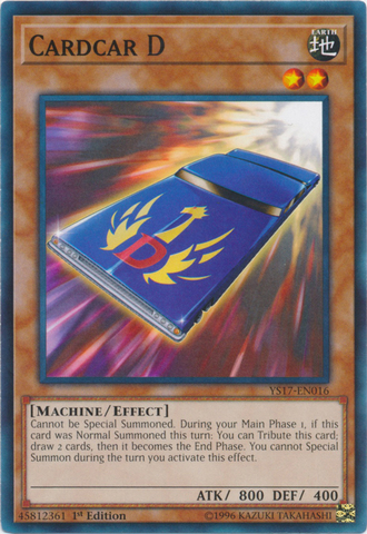 Cardcar D - YS17-EN016 - Common - 1st Edition