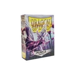 Dragon Shield Sleeves: Matte Purple (60 Standard Size)