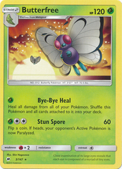 Butterfree - 3/147 - Rare